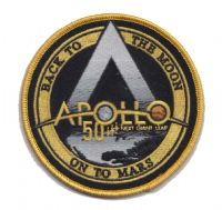 Apollo Next Giant Leap Moon and Mars Patch